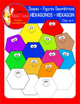 FIGURAS GEOMETRICAS - HEXAGONOS HEXAGON SHAPES