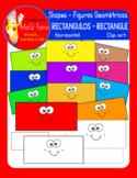 FIGURAS GEOMETRICAS - RECTANGULO - HORIZONTAL SHAPES RECTANGLES