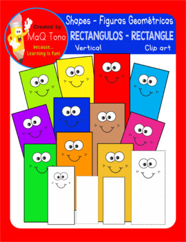 FIGURAS GEOMETRICAS - RECTANGULO - VERTICAL SHAPES RECTANGLES