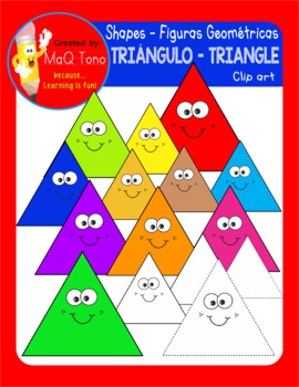 FIGURAS GEOMETRICAS TRIANGULOS - SHAPES TRIANGLES