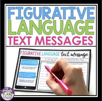 FIGURATIVE LANGUAGE ACTIVITY: TEXT MESSAGES