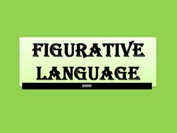 FIGURATIVE LANGUAGE (Animated)