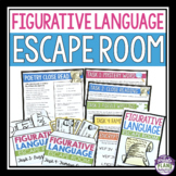 FIGURATIVE LANGUAGE ESCAPE ROOM ACTIVITY