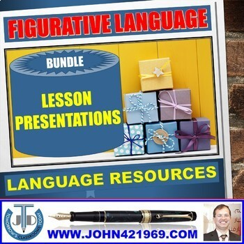 FIGURATIVE LANGUAGE LESSON PRESENTATIONS BUNDLE