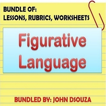 FIGURATIVE LANGUAGE LESSONS AND RESOURCES: BUNDLE