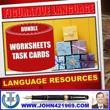 FIGURATIVE LANGUAGE WORKSHEETS AND ANSWERS BUNDLE