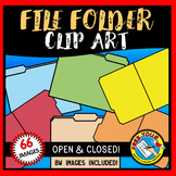 FILE FOLDER CLIPART: OPEN FILE FOLDER CLIPART & CLOSED FIL