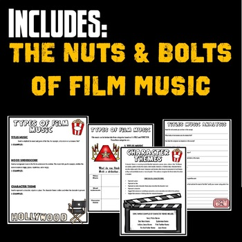 FILM MUSIC ACTIVITIES - MUSIC AND THE MOVIES