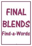 FINAL BLENDS FIND-A-WORDS