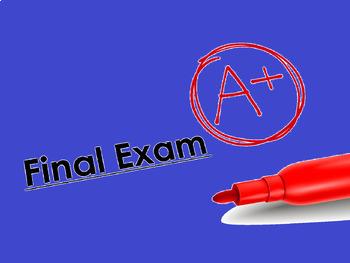 FINAL Biology EXAM !!