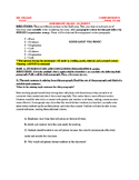 FINAL EXAM: Composition II Assessment (MC & Writing Prompt)