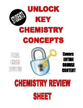 """5-STAR """"CHEAT SHEET"""" - A FINAL EXAM REVIEW for ENTIRE ..."""