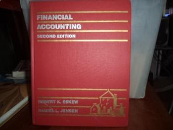 FINANCIAL ACCOUNTING   ISBN 0-394-35203-3