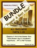 FINANCIAL LITERACY BIG BUNDLE (The Money Trail) - ALL Chap