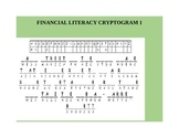 FINANCIAL LITERACY FOR STUDENTS CRYPTOGRAM