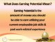 FINANCIAL LITERACY-The Money Trail-Part 10-Personal Earning Potential POWERPOINT