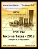 FINANCIAL LITERACY - The Money Trail - Part 13 - 2016 Income Taxes, 4th Ed