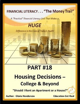 FINANCIAL LITERACYTheMoneyTrail Part18 HousingDecisionsCollege&Beyond 2016-3rdEd