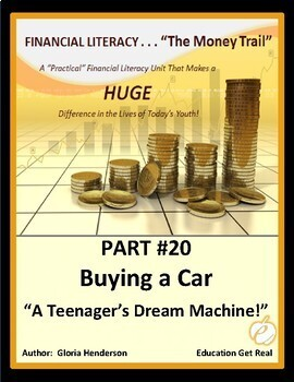 FINANCIAL LITERACY - The Money Trail-Part 20- Buying a Car