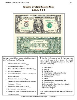 FINANCIAL LITERACY - The Money Trail - Part 3 - Understanding Our Money 3rdEd