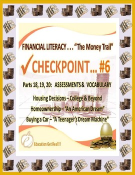 FINANCIAL LITERACY - THE MONEY TRAIL - PARTS 18, 19, 20 AS