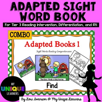 FIND- Adapted Books 1 (COMBO PACK)