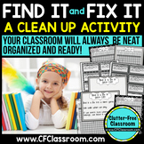FIND IT & FIX IT: CLASSROOM MANAGEMENT GAME {BLACKLINE DESIGN PRODUCTS}