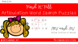 FIND N' FILL: /M/ and /N/ Initial Position Word Search Puzzles