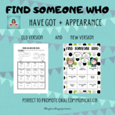 FIND SOMEONE WHO - PHYSICAL APPEARANCE