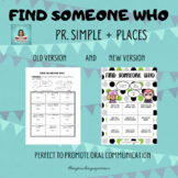 FIND SOMEONE WHO - PLACES