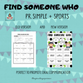 FIND SOMEONE WHO - SPORTS
