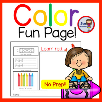 COLOR MY WORLD fun! Find the Colors