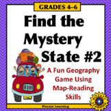 FIND THE MYSTERY STATE #2 • A Fun Geography Game Using Map