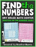 FIND THE NUMBER: hundred chart center