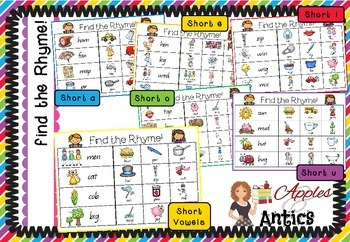 Find the Rhyme - Rhyme Identification