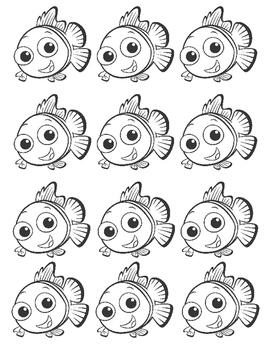 FINDING DORY NEMO FISH MEET THE TEACHER WISH LIST