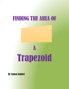 FINDING THE AREAS OF TRAPEZOIDS