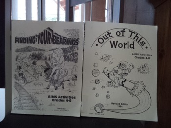 FINDING YOUR BEARINGS  OUT OF THIS WORLD        SET OF 2