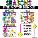 FINE MOTOR Activities and Centers - GROWIN SEASONS BUNDLE