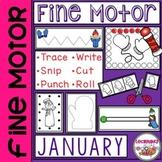 Fine Motor Practice for January