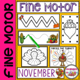 Fine Motor Practice for November