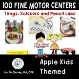 Apple Fine Motor Centers