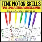FINE MOTOR Skills | Task Cards for Autism & Special Education Task Box Filler