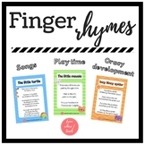 FINGER RHYMES - Games to play with the littles!