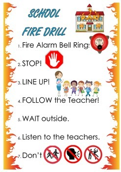 FIRE DRILL posters