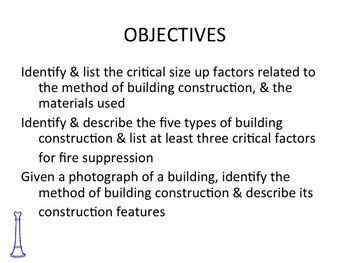 FIRE OFFICER BUILDING CONSTRUCTION COMBUSTIBLE BC/P
