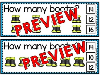 FIRE SAFETY MATH ACTIVITIES (SKIP COUNTING BY 2S CENTER)