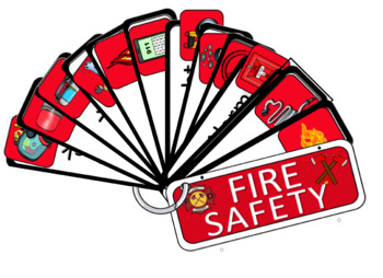 FIRE SAFETY LANGUAGE CENTER PLUS WORD WALL