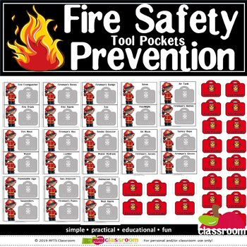 FIRE SAFETY PREVENTION POCKET TOOLS BOOKLET