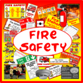 FIRE SAFETY + ROLE PLAY RESOURCES DISPLAY EARLY YEARS KS1-2 DANGER